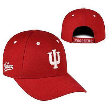 Licensed Indiana Hoosiers Official NCAA Adjustable Triple Threat Hat Cap Top of the World KO_19_1