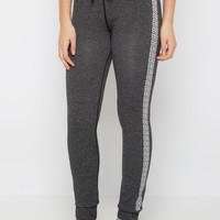 Chevron Striped Space Dyed Slim Jogger   Joggers & Sweatpants   rue21