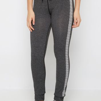 Chevron Striped Space Dyed Slim Jogger | Joggers & Sweatpants | rue21
