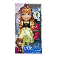 Anna Ice Skating Disney Frozen Doll