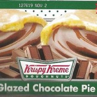 Krispy Kreme Glazed Pies - 4 Individually Boxed Single Serving Pies (chocolate)