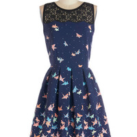 Flight of Fanciful Dress | Mod Retro Vintage Dresses | ModCloth.com