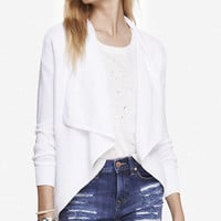 RIBBED CASCADING FRONT COVER-UP from EXPRESS
