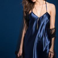 Selene Satin Slip Dress