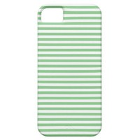 Grass Green And White Stripes iPhone 5 Cases