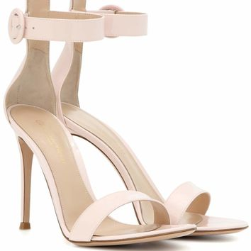 Portofino 105 patent leather sandals