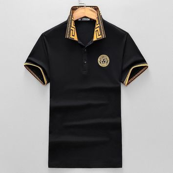 Versace Fashion Casual Shirt Top Tee-94