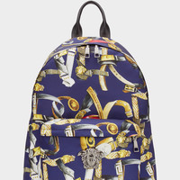Palazzo Nylon Belt Print Backpack