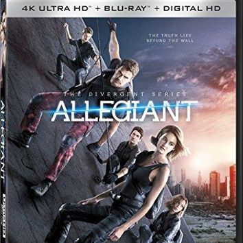 Shailene Woodley & Theo James & Robert Schwente-The Divergent Series: Allegiant 4K Ultra HD