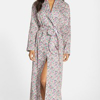 Women's Flowers of Liberty Floral Print Robe,