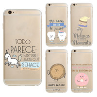 Mr Wonderful Fundas For Iphone 7 Case Luxury Silicon Soft Tpu Phone Cover Series Cartoon Cases For Iphone 7 Plus