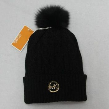 DCCKFC8 Michael Kors' Women Men Embroidery Beanies Knit Hat Warm Woolen Hat