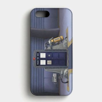 Tardis Monster Inc iPhone SE Case