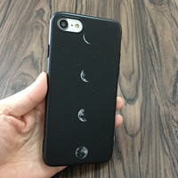Moon Phase Phone Case For iPhone 7 7Plus 6 6s Plus 5 5s SE