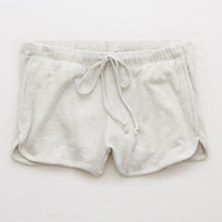 Aerie Plush Short, Heather Frost