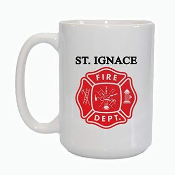 Custom Name Personalize Fire Fighter Fireman Coffee Cup Mug