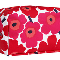 Bags and Accessories: Marimekko Verso Mini Unikko in white, red | Marimekko Store