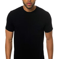 Tonal Pocket Crew Neck Tee