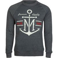 Imperial Motion Trade Anchor Mens Sweatshirt Navy  In Sizes