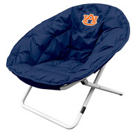 Auburn Tigers NCAA Adult Sphere Chair (Navy)