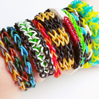 Loom Band Bracelet Pack - Rubber Band Bracelet - Loom Bands - Party Favors for Kids - Party Favors - Loom Bracelet - Party Pack #4