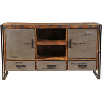 Addison Entertainment Center with 3 Drawers and 2 Doors