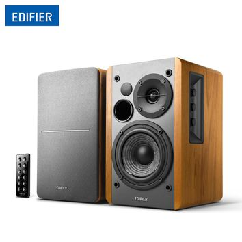 "Edifier R1280DB Wireless Bluetooth Speaker Studio Active Bookshelf Speaker With 4"" Bass"