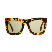 Michael Kors Grable Tortoise Sunglasses - ShopBAZAAR