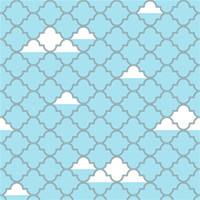 Lattice Temporary Wallpaper