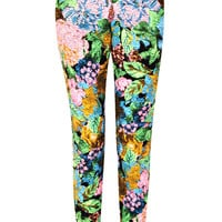Mollie Floral Fitted Trousers