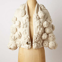 Tufted Roses Capelet