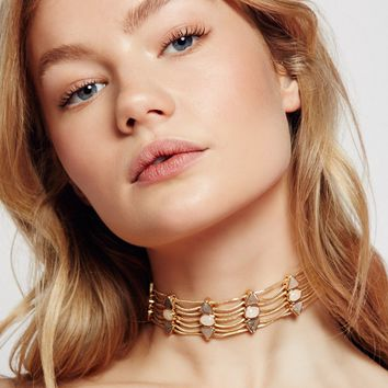Free People Six Shooter Stone Choker