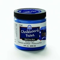 FolkArt 2542 8-Ounce Chalkboard Paint, True Blue