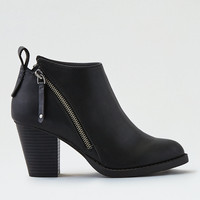 AEO Side Zip Bootie , Black