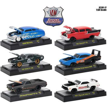 Ground Pounders 6 Cars Set Release 17 IN DISPLAY CASES 1:64 Diecast Models