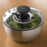 OXO Stainless-Steel Salad Spinner