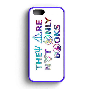 Divergent Hunger Game Harry Potter Book Quotes iPhone 5 Case iPhone 5s Case iPhone 5c Case