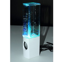 Water Fountain Speakers Dancing LED Lights Computer mobile phone MP3/4 iPod HS