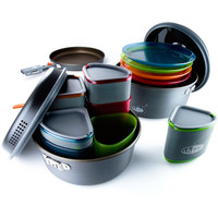 GSI Outdoors Pinnacle Camper Cookset One Color, One