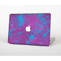 The Purple and Blue Paintburst Skin Set for the Apple MacBook Air 13""