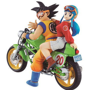 Son Goku & Chichi DESKTOP REAL McCOY05 DragonBall (Pre-Order)