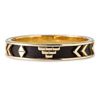 Women's House of Harlow 1960 'Aztec' Bangle - Black/ Gold