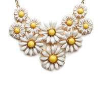 Daisy Crazy Flower Necklace