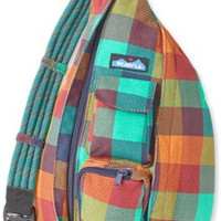 Monogrammed Kavu Rope Bags - Check It - Great gift for College, Teens, Women, Outdoors Satchel Crossbody Tote
