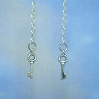 Legend of Zelda Dungeon Key Earrings