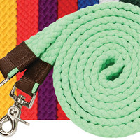 Saddles Tack Horse Supplies - ChickSaddlery.com Flat Plaited Cotton Roping or Contest Reins