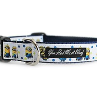 Despicable Me Dog Collar