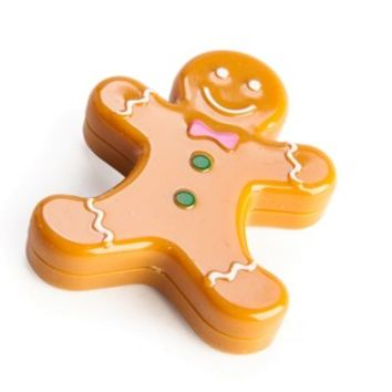 Gingerbread Man Lip Gloss