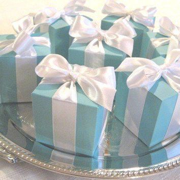 Tiffany Blue Favor Boxes 15 Best Seller by favoritesbyglenda