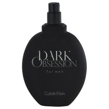 Dark Obsession By Calvin Klein Edt Spray 4 Oz *tester